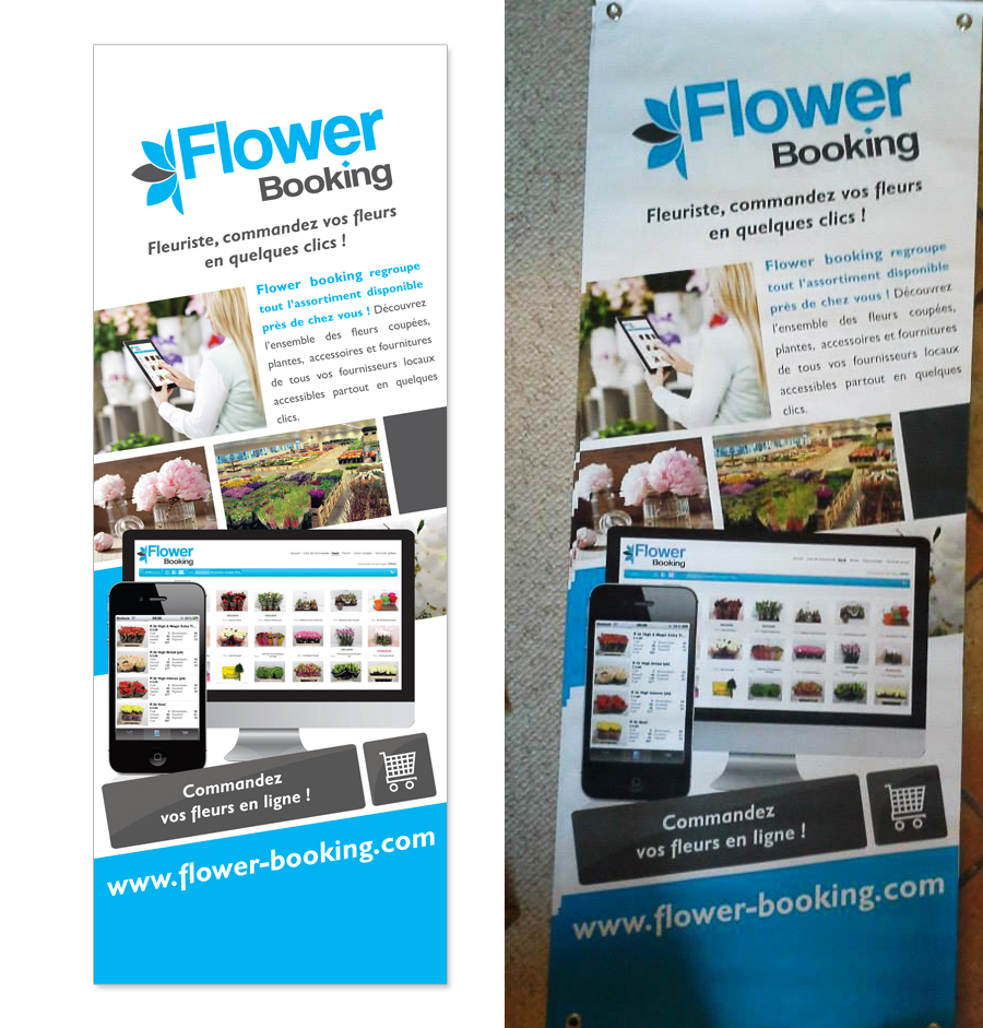 roll up flower booking