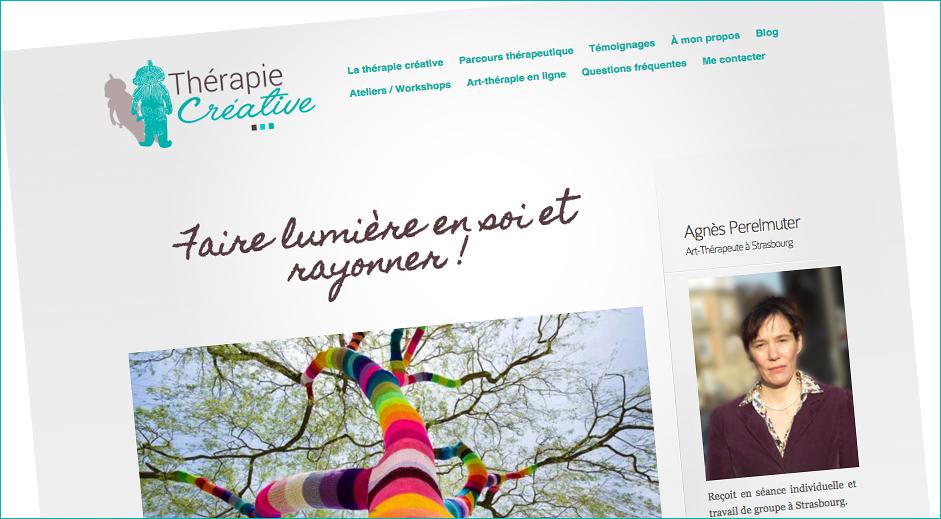 site thérapie créative